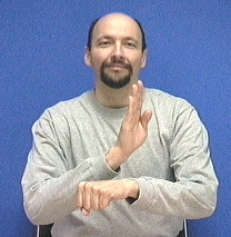 """""""busy"""" American Sign Language (ASL)"""